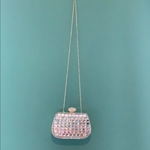 Gold and diamond studded bag